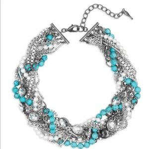 Chloe + Isabel Turquoise Torsade Necklace